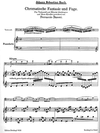 Bach, J.S.: Chromatische Fantasie und Fugue (cello & piano)