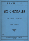 International Music Company Bach (Fournier): 6 Chorales (cello & piano)