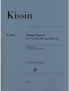 HAL LEONARD Kissin: Cello Sonata, Op.2 (cello, piano) HENLE