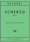 International Music Company Klengel: Scherzo, Op.6 (cello & piano)