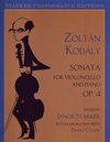 LudwigMasters Kodaly, Zoltan (Starker): Cello Sonata Op.4 (cello & piano)