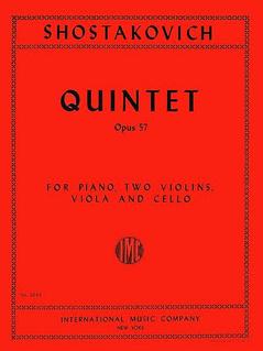 International Music Company Shostakovich, D.: Quintet Op.57 (piano, 2 violins, viola, cello) IMC