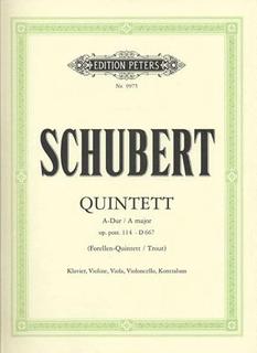 "Schubert, F.: ""Trout"" Quintet Op.114 (piano, violin, viola, cello, bass)"