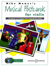 HAL LEONARD Mower, M.: Musical Postcards for Violin, 10 pieces in 10 Styles (violin & CD)