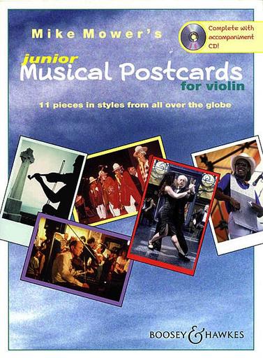 HAL LEONARD Mower, M.: Junior Musical Postcards (violin and CD)