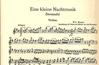 Mozart, W.A.: Eine Kleine Nachtmusik K525 (violin, piano, CD)