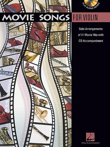 HAL LEONARD Movie Songs for Violin (violin & CD)