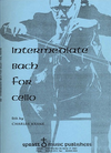 Bach, J.S. (Krane): Intermediate Bach for the Cello (cello & piano)