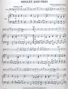 HAL LEONARD Bach, J.S. (Cacavas): Minuet & Trio (cello & piano)
