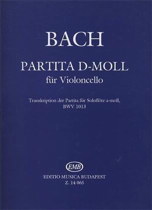 HAL LEONARD Bach (Pertorini): Partita in D minor, BWV1013 - TRANSCRIBED (cello)