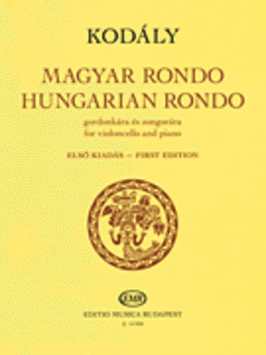 HAL LEONARD Kodaly, Zoltan: Hungarian Rondo (cello & piano)