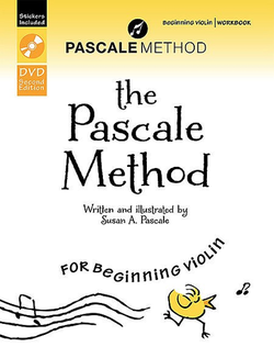 Alfred Music Pascale, Susan: The Pascale Method Beginning Violin Workbook (book & DVD)