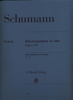 HAL LEONARD Schumann (Hertrich, ed.): Piano Quintet in Eb, Op.44, urtext (2 violins, viola, cello, and piano)