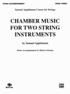 Alfred Music Applebaum, S.: Chamber Music for Two String Instruments V.3 (piano accompaniment)