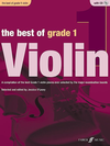 Alfred Music O'Leary, Jessica (editor): The Best of Grade 1 Violin-A Compilation of the best Grade 1 violin pieces ever selected by the major examination boards