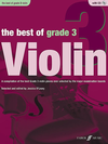 Alfred Music O'Leary, Jessica (editor): The Best of Grade 3 Violin-A Compilation of the best Grade 3 violin pieces ever selected by the major examination boards