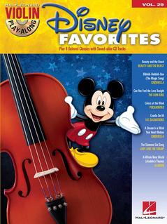 HAL LEONARD Play-Along Series Vol. 28: Disney Favorites (violin & CD)
