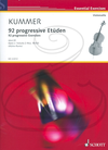 HAL LEONARD Kummer (Muller-Runte): 92 Progressive Exercises, Op.60, Vol.2, Nos.58-92 (cello) Schott