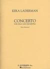 HAL LEONARD Laderman, Ezra: Cello Concerto (cello & piano)