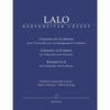 Barenreiter Lalo, Edouard (MacDonald): Konzert / Concerto in D minor for Violoncello & Piano, Barenreiter Urtext