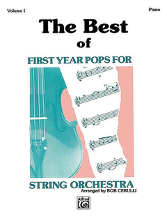 Alfred Music Cerulli, Bob: The Best of First Year Pops (piano accompaniment)