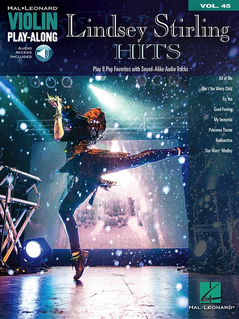 HAL LEONARD Stirling: Play-Along Series Vol. 45 Hits (violin, and audio access)