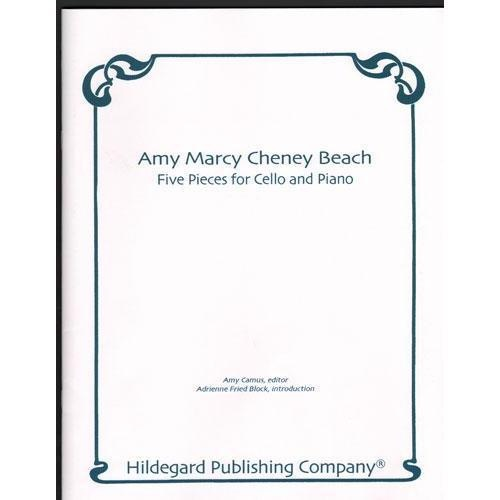 Carl Fischer Beach, Amy: Five Pieces for Cello & Piano (cello & piano)