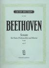 Beethoven: Sonata for Piano & Horn or Cello Op.17 (cello & piano) Breitkopf