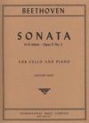 International Music Company Beethoven (Rose): Sonata in G minor Op.5#2 g (cello & piano)