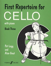 Legg, Pat: First Repertoire for Cello Bk.3 (cello & piano)