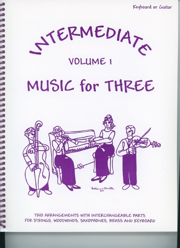 Last Resort Music Publishing Kelley, Daniel: Music for Three Intermediate Vol.1 (piano or guitar)