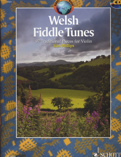 HAL LEONARD Phillips, S.: Welsh Fiddle Tunes - 97 Traditional Pieces (Violin, cd, and piano)