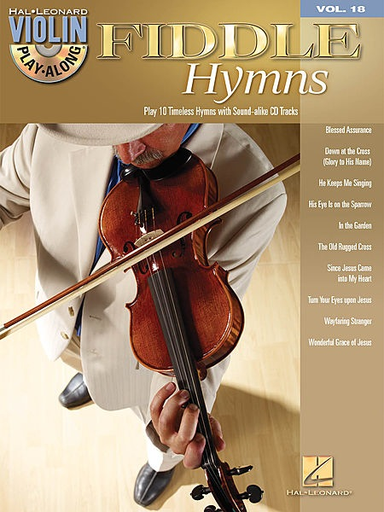 HAL LEONARD Fiddle Hymns Play - Along Series Vol.18 (violin & CD)