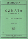 International Music Company Beethoven, L.van (Rose): Sonata in A Major Op.69 (cello & piano)