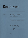 HAL LEONARD Beethoven, L.van (Geringas/Dufner, ed.): Variations, urtext (cello and piano)