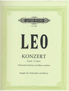 Leo, Leonardo: Concerto in F minor (cello & piano)