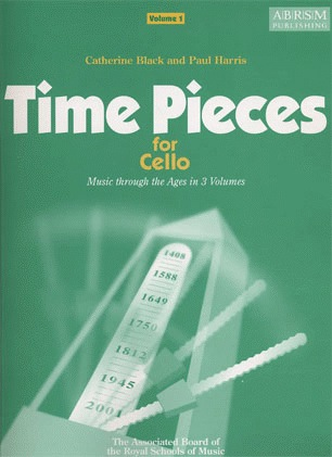 Black, Catherine: Time Pieces for Cello Vol.1 (cello & piano)