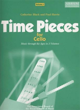 Black, Catherine: Time Pieces for Cello Vol.1 (cello & piano)