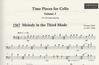 Black, Catherine: Time Pieces for Cello Vol.3 (cello & piano)