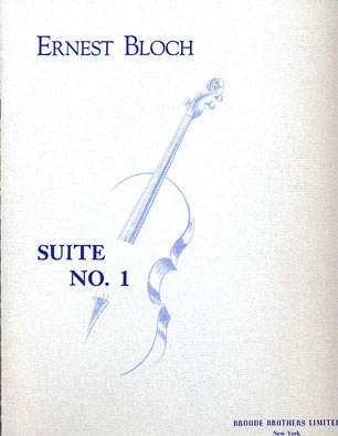 Broude Brothers Limited Bloch, Ernest: Suite No. 1 (cello solo)
