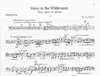 HAL LEONARD Bloch, Ernest: Voice In The Wilderness (cello & piano)