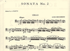 International Music Company Boccherini, Luigi (Piatti): Sonata #2 in C (cello & piano) IMC