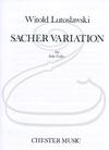 HAL LEONARD Lutoslawski (Schiff): Sacher Variation (cello) Chester Music