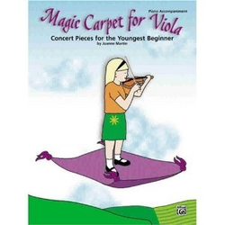 Martin, Joanne: Magic Carpet for Viola (Piano Acc.)