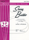 Alfred Music Applebaum: String Builder, Bk.3 (piano accompaniment) Belwin