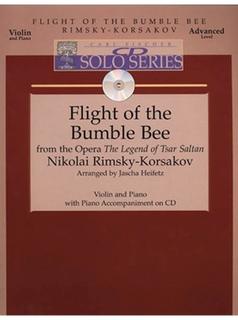 Carl Fischer Rimsky-Korsakov, Nikolai (Heifetz): Flight of the Bumblebee (violin, Piano, CD)