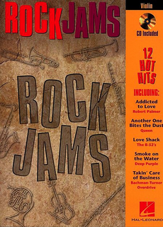 HAL LEONARD Rock Jams (violin & CD)