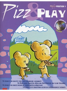 HAL LEONARD Van Rompaey, Gunter: Pizz & Play (violin & CD)(2 violins & CD)
