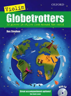 C.F. Peters Ros, S.: Globetrotters; 12 Pieces In Styles From Around the World (violin and CD)