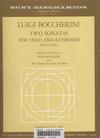 Galaxy Music Boccherini, Luigi:(Klenz)Two Sonatas for cello & keyboard (cello II ad lib.) Galaxy Music
